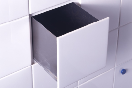 Droog Tile Compartment  8 Strangely Satisfying Hidden Kitchen Compartments Droog Tile Compartment