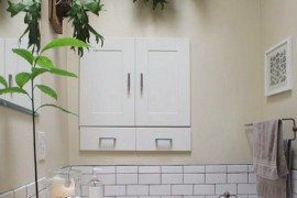 Elkhorn Fern Bathroom  12 Creative Ways to Use Plants in The Bathroom Elkhorn Fern Bathroom 270x180