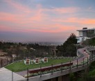 Exclusive private deck and walkway of the amazing Beverly Hills Residence