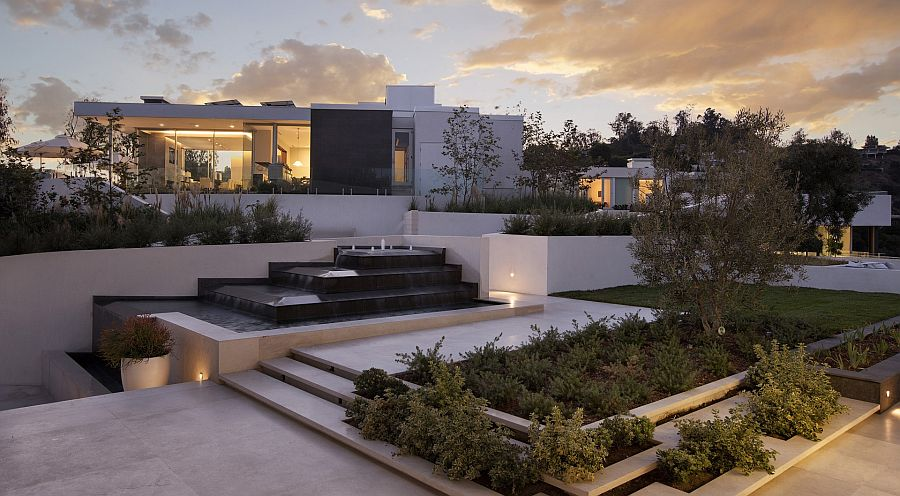 Lavish Beverly Hills House Offers A Spectacular Aerial