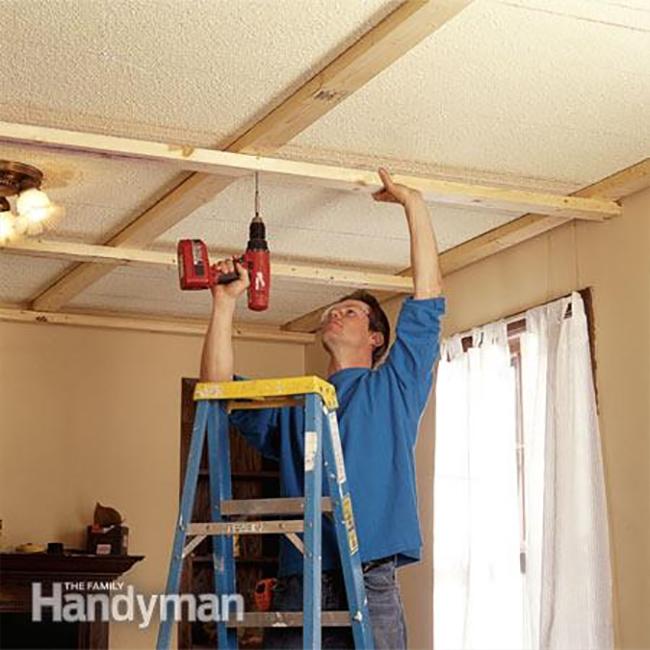 Family Handman Panel Ceiling Steps