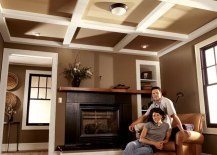 Family Handyman Beam and Panel Ceiling