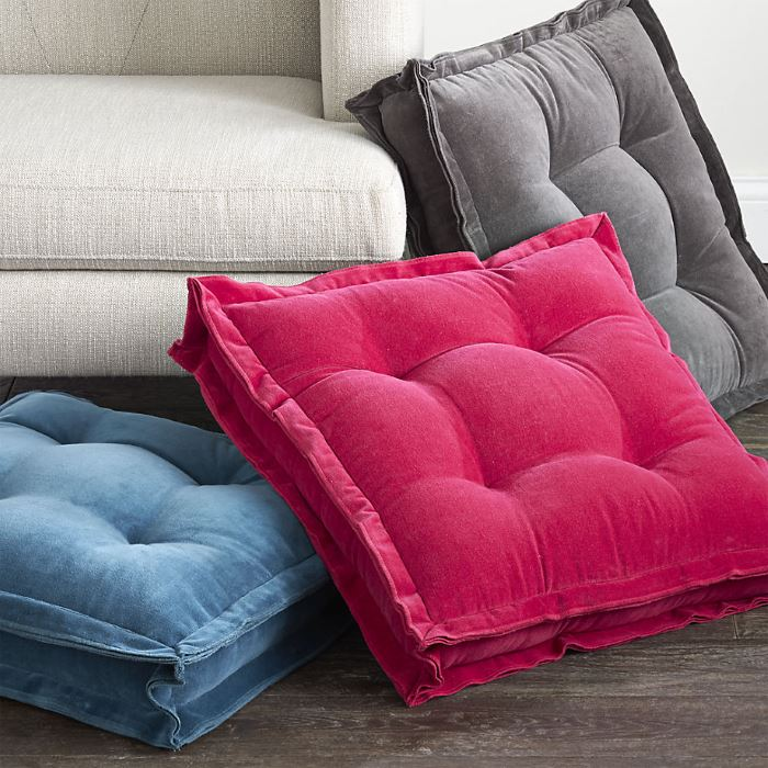 Floor cushions from CB2