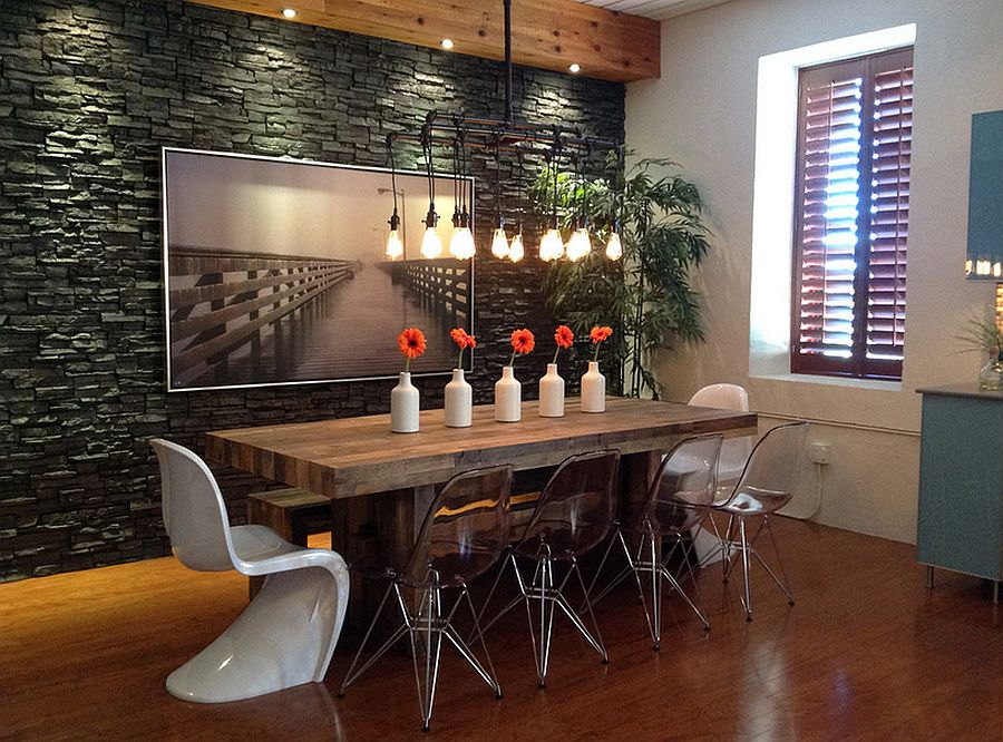 Kitchen trends for 2017 - 30 Ways To Create A Trendy Industrial Dining Room