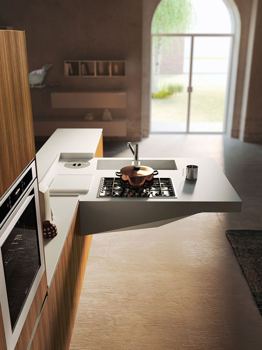 Funtional block of Board kitchen is both adaptable and customizable