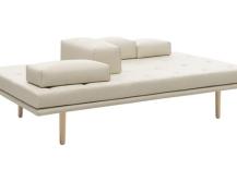 Fusion Sofa in White Leather