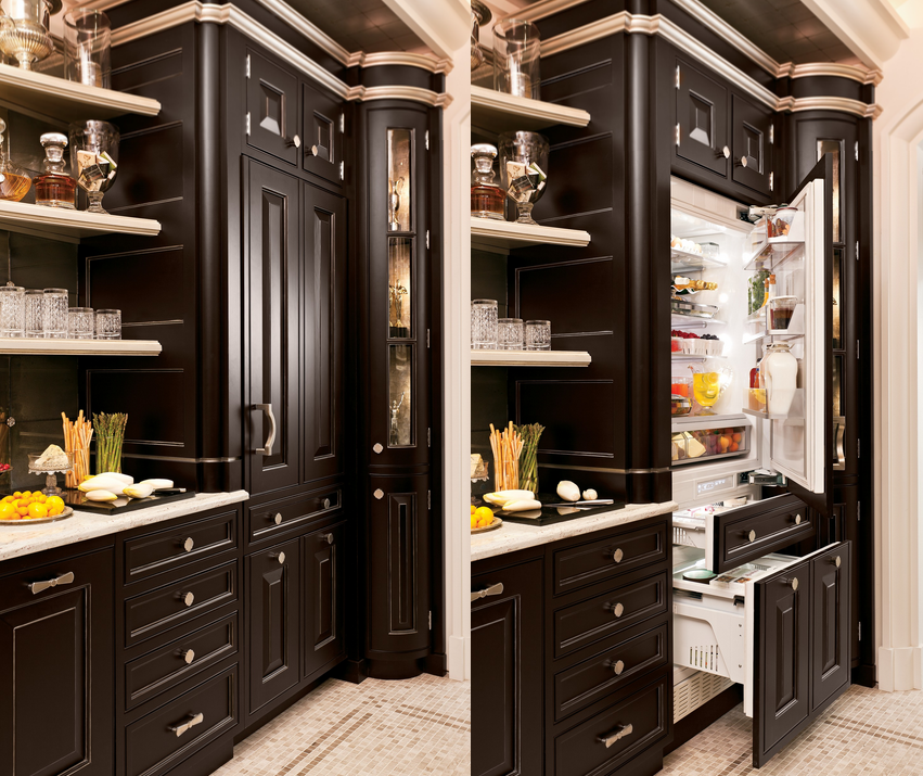 Built-In Refrigerators That Blend Perfectly into Your Kitchen's Decor