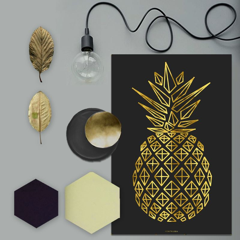 Golden Pineapple by VonTrueba
