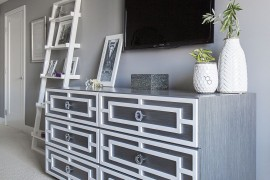 Gray brings chic sophistication to any setting it adorns