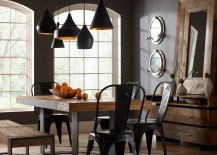 30 Ways to Create a Trendy, Dashing Industrial Dining Room