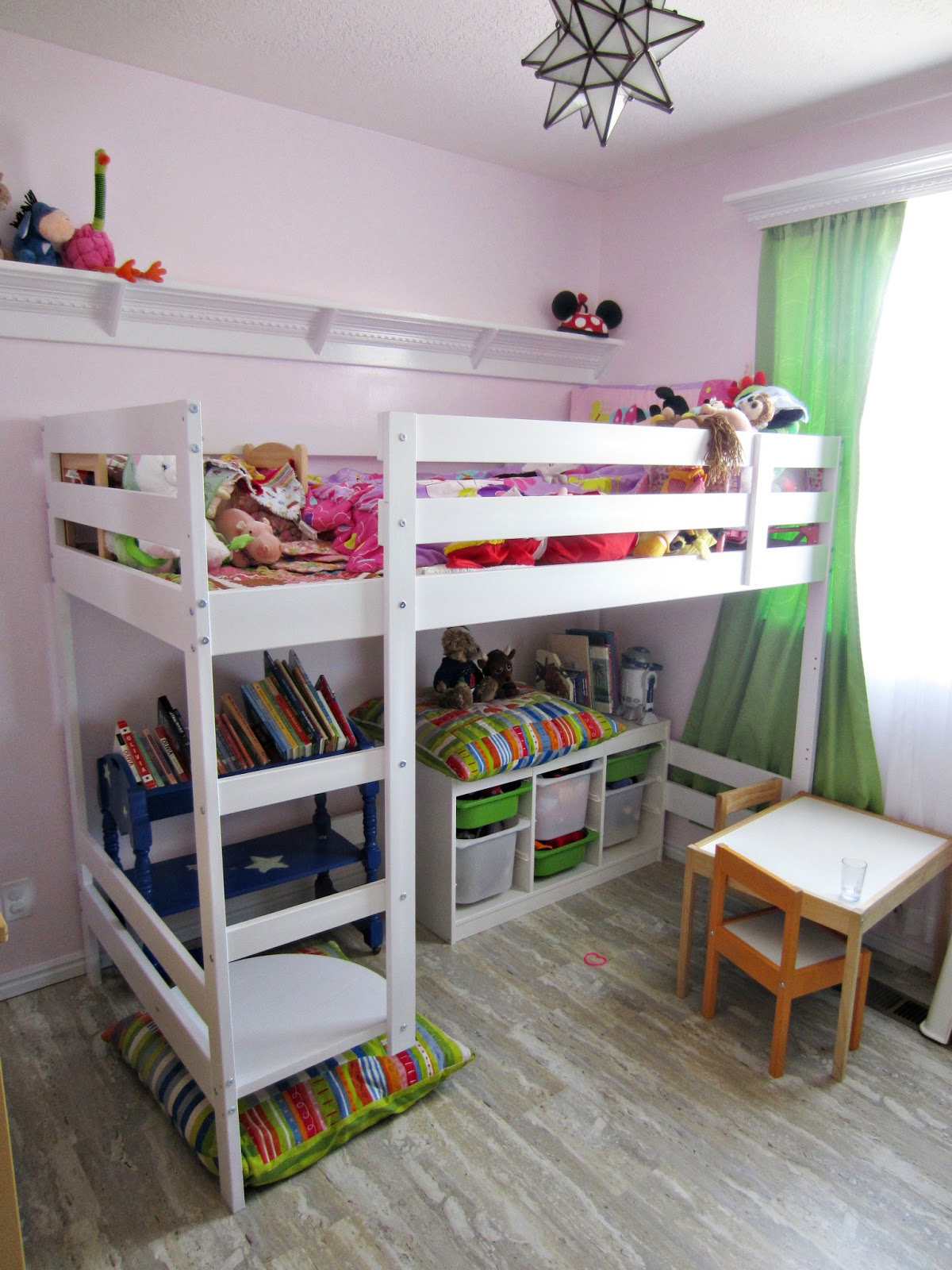 Bunk bed with desk underneath ikea -  Desk Underneath Ikea Storage Ideas To Keep Your Childs Toys From Taking Over Your Home Bunk Beds With