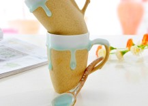 Handmade Mug with Spoon