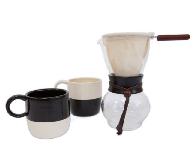 Half Hitch contrast mugs