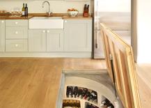 Hidden Spiral Wine Cellar