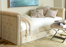 Horchow Tufted Daybed