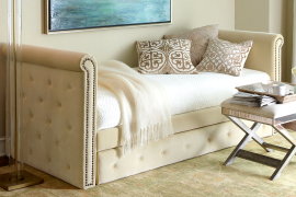 Horchow Tufted Daybed  8 Dreamy Daybeds That Do Double Duty as Seating Horchow Tufted Daybed 270x180