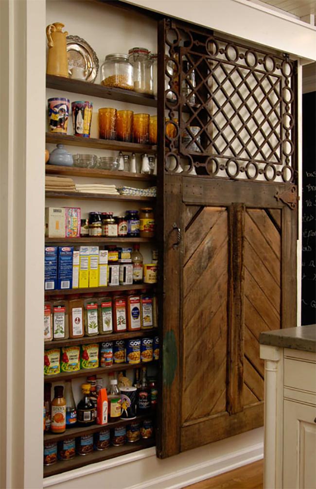 8 Pretty Pantry Door Ideas That Showcase Your Storeroom As