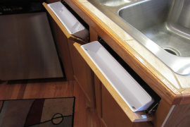 How to Make Your Fake Kitchen Cabinets Functional  8 Strangely Satisfying Hidden Kitchen Compartments How to Make Your Fake Kitchen Cabinets Functional