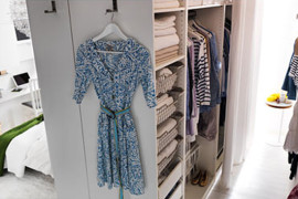 IKEA DIY Walk-in Closet