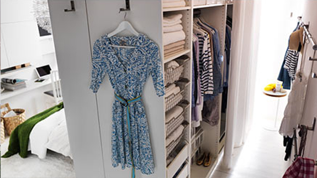 IKEA DIY Walk-in Closet