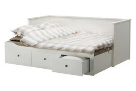 IKEA Daybed with Storage Drawers  8 Dreamy Daybeds That Do Double Duty as Seating IKEA Daybed with Storage Drawers 270x180
