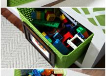 IKEA Expedit DIY Toy Storage