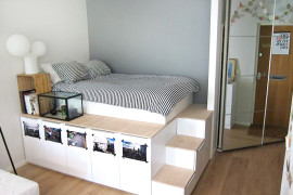 Ikea hack bett  10 IKEA Bedrooms You'd Actually Want To Sleep In