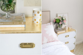 IKEA Rast Gilded Nightstand  8 Awesome Pieces of Bedroom Furniture You Won't Believe are IKEA Hacks IKEA Rast Gilded Nightstand 270x180
