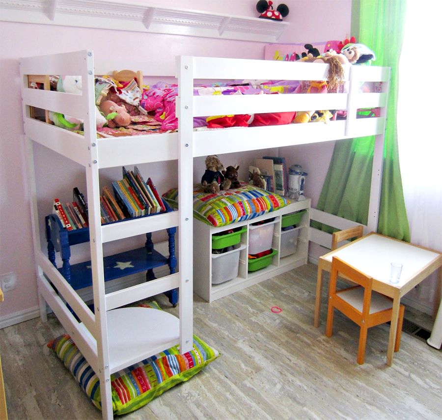 8 diy storage ideas to keep your child 39 s toys from taking. Black Bedroom Furniture Sets. Home Design Ideas