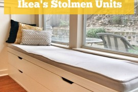 IKEA Window Set DIY  8 Awesome Pieces of Bedroom Furniture You Won't Believe are IKEA Hacks IKEA Window Set DIY 270x180