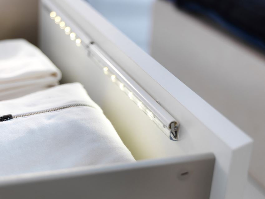 View in gallery IKEA drawer lighting