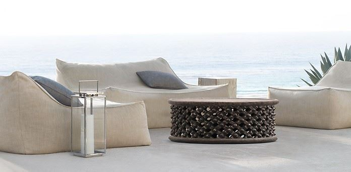 Ibiza lounge seating from Restoration Hardware