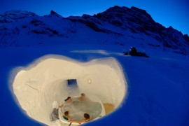 Igloo Village Hot Tub
