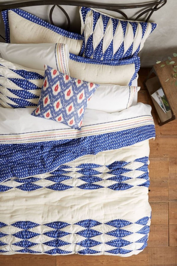Ikat quilt from Anthropologie