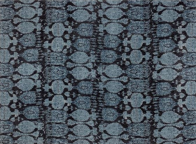 Ikat rug from Potery Barn