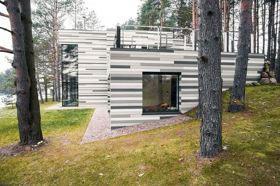 Innovative exterior in wood with contemporary elegance