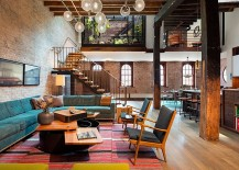 Interior-of-the-loft-combines-modern-and-industrial-style-217x155