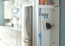 Kitchen Cleaning Supply Cabinet