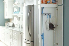 Kitchen Cleaning Supply Cabinet  8 Strangely Satisfying Hidden Kitchen Compartments Kitchen Cleaning Supply Cabinet