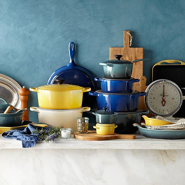 Le Creuset cookware from Williams-Sonoma