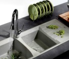 Light Grey Granite Sink