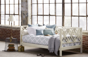 Palu Bayview Daybed with Blue Bedding