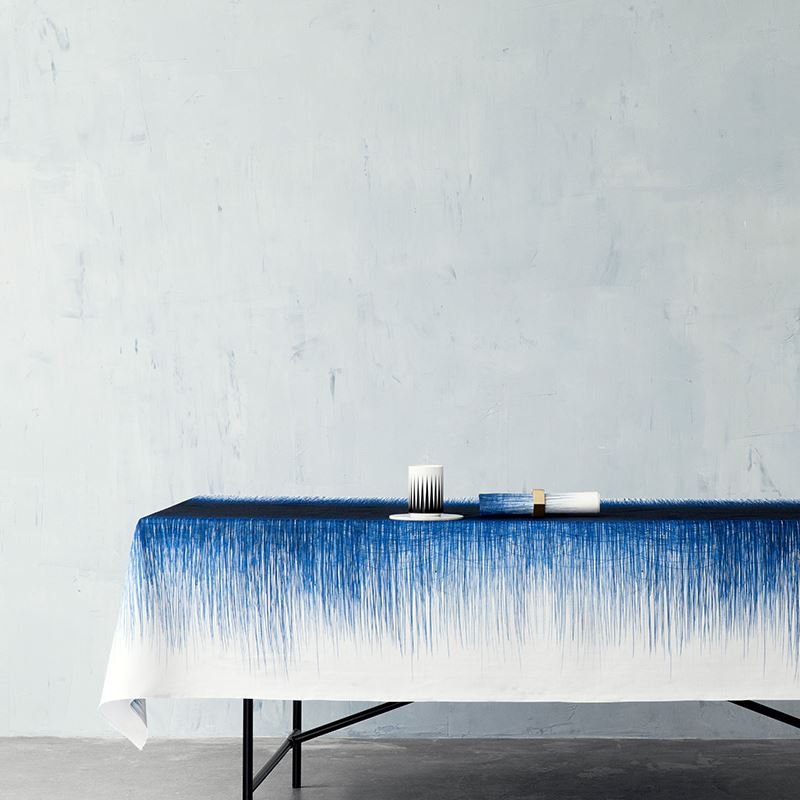 Pen-motif tablecloth from ferm LIVING