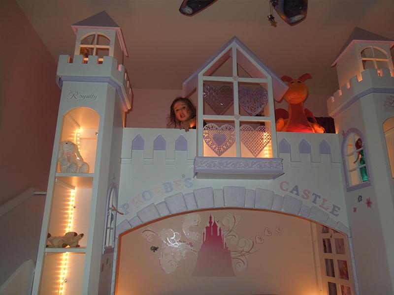 Phoebe's Castle DIY Bed