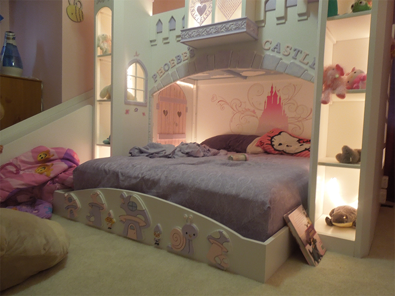 Phoebe's Castle DIY Priness Bed