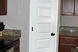 Plain White Pantry Door Before  8 Pretty Pantry Door Ideas That Showcase Your Storeroom as a Star Plain White Pantry Door Before 270x180