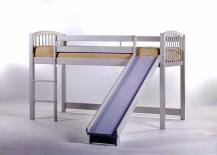 Princess-Loft-Bed-with-Slide-Frame-217x155