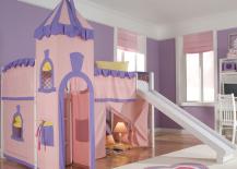 Princess-Pink-Loft-Bed-with-Slide-217x155