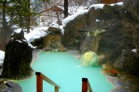 Private Winter Hot Tub