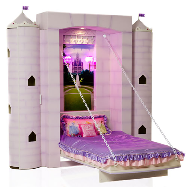 fairies wg beds white princess tent amazon tower tunnel with in cabin fairy uk sleeper slp co mid bed